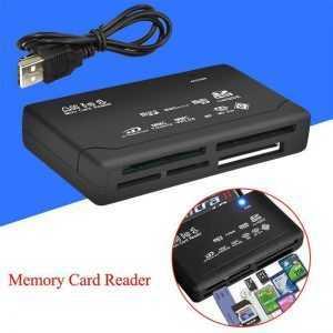 Lector de tarjetas USB