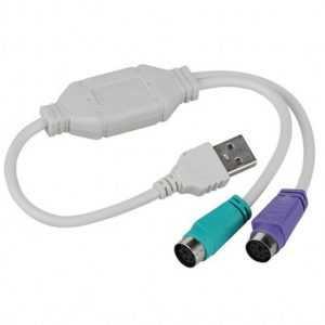 Cable Convertidor USB/PS2