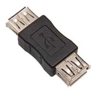 Adaptador USB a USB Hembra