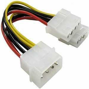 Cable de corriente 2 4 pin PSU