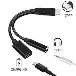Cable adaptador Tipo C 2 en 1
