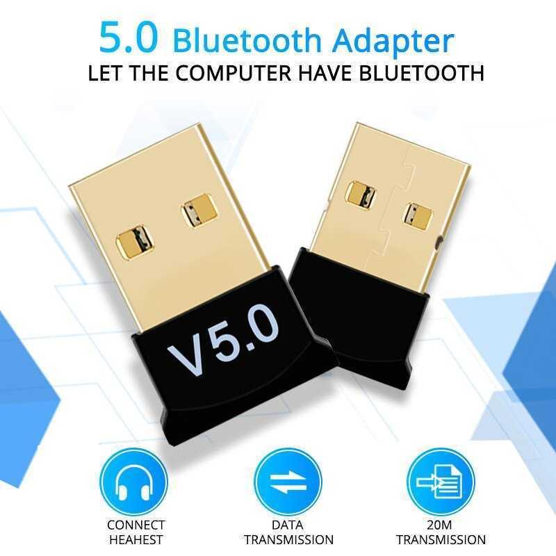 Bluetooth 5,0, adaptador USB inalámbrico