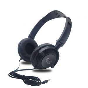 Auriculares con cable de 3,5mm para PC, cascos plegables estéreo con micrófono para ordenador, Sony, Xiaomi, Huawei, PS 4 y mas…