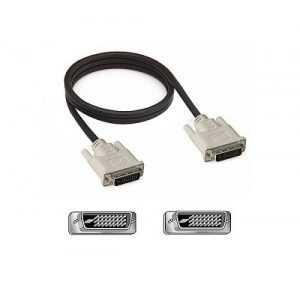 Cable DVI de doble enlace, serie CAC-DVDLBK Cable DVI de doble enlace.La pantalla se puede conectar a una computadora con una interfaz DVI.