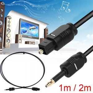 Cable de sonido óptico SPDIF de fibra óptica